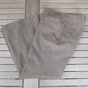 Banana Republic Brown Stretch Wool Blend Pants